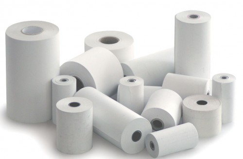 Our thermal paper sizes