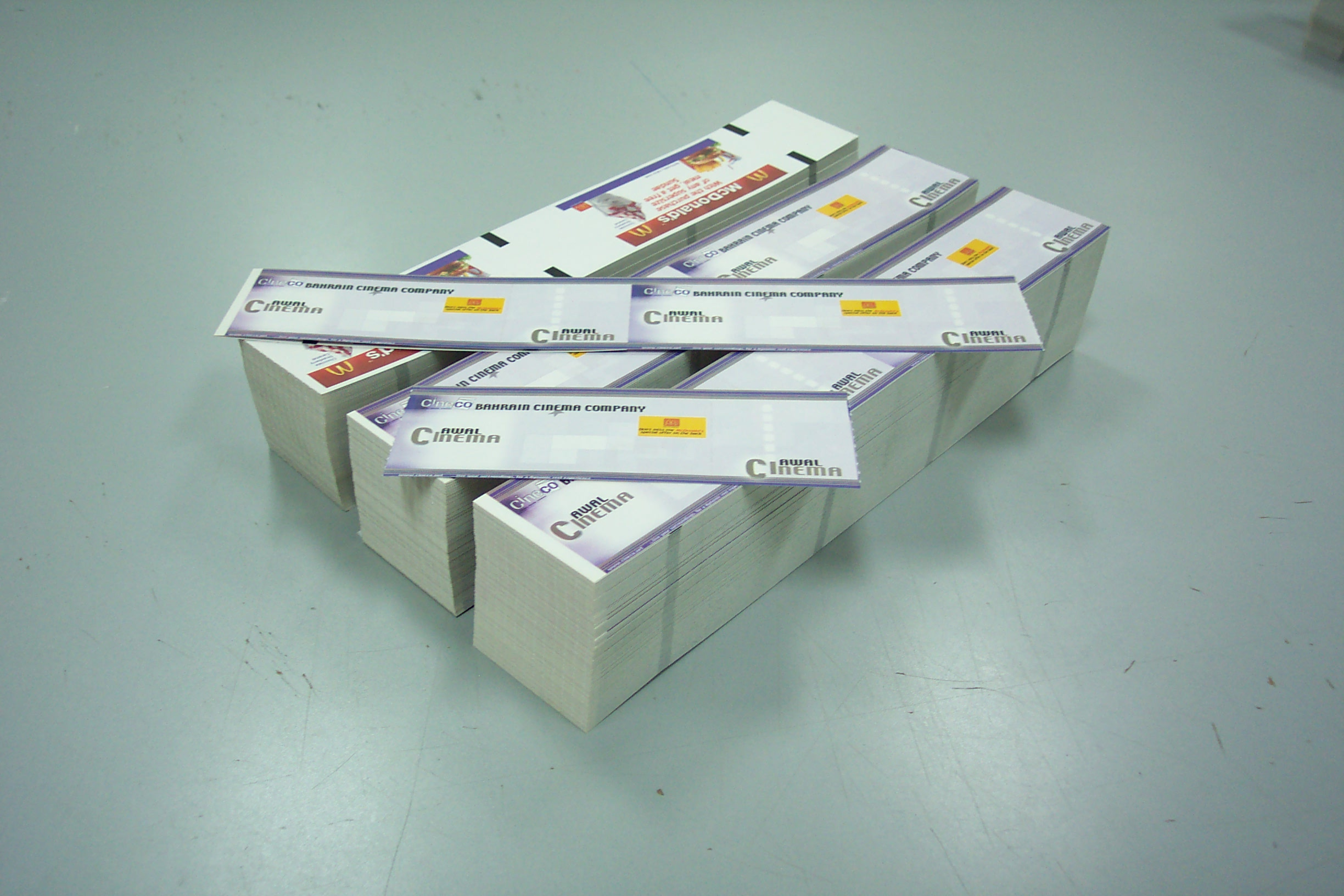 Abulhoul thermal printing tickets